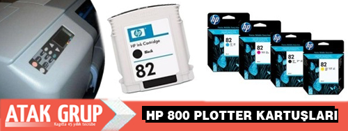 HP 800 Plotter kartuşu