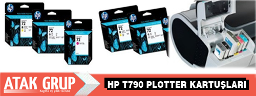HP t790 Plotter kartuşu