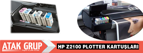 HP z2100 Plotter kartuşu